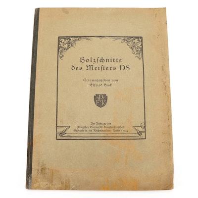 "German Language ""Holzschnitte des Meisters"" by Elfried Bock, 1924"
