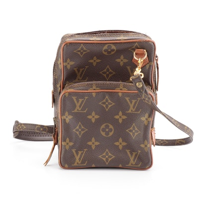 Louis Vuitton Amazone Bag in Monogram Canvas and Vachetta Leather