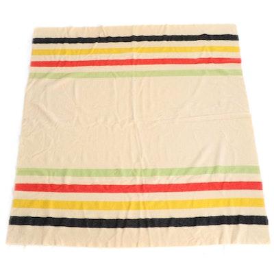 Shuler & Benninghofen Mariposa Wool Blanket, Mid-20th C