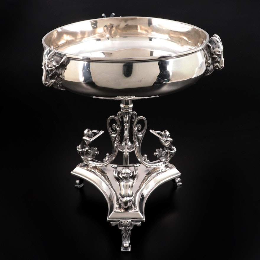 Reed & Barton Silver Plate Footed Compote