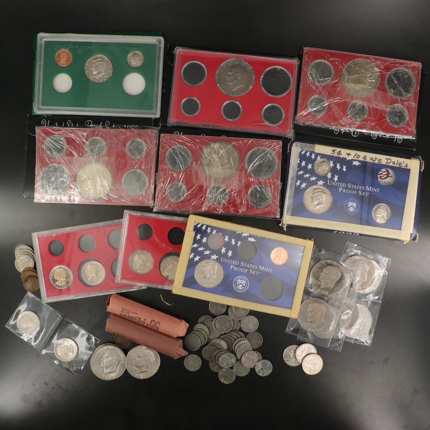 Assortment of American Coins