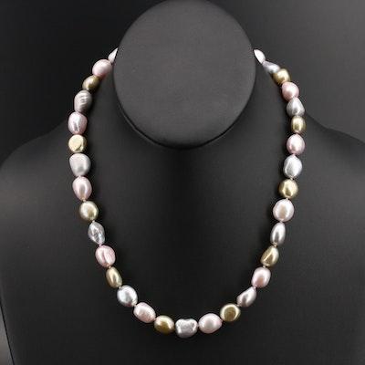 Princess Length Pearl Necklace