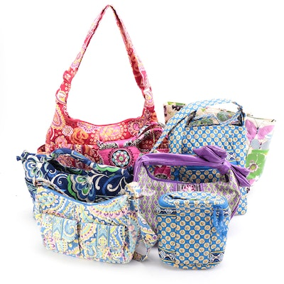 """Vera Bradley """"Cupcake Pink"""" Gabby Tote, """"Blue Riviera"""" Lunch Bag and More"""