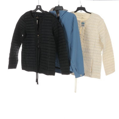 Cloudveil Jacket with J.McLaughlin Puffer Jackets