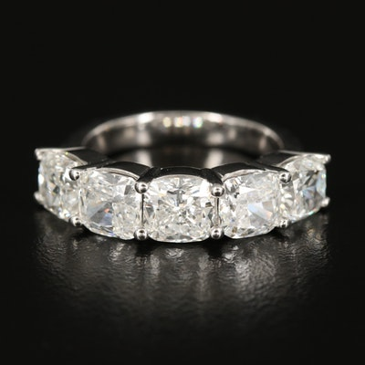 14K 5.00 CTW Diamond Five Stone Ring