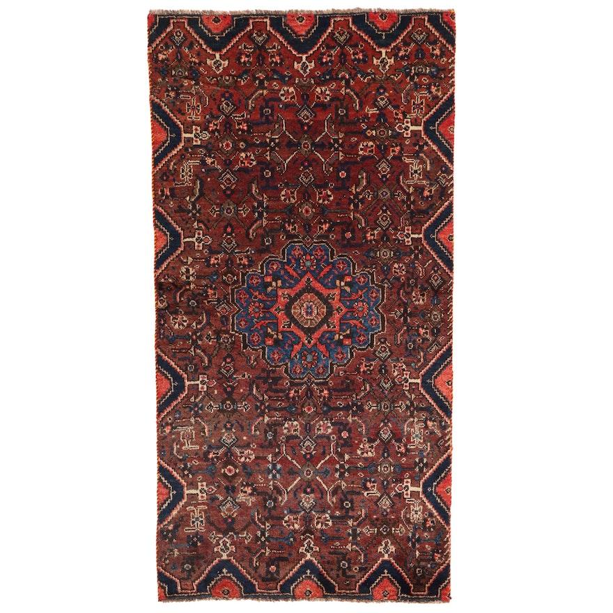 3'6 x 6'7 Hand-Knotted Persian Bijar Area Rug