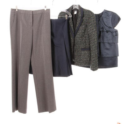 J.Crew, Talbots, BCBG, Separates with Jacket, Pants, Skirt and Top
