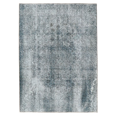 7'10 x 11' Hand-Knotted Persian Overdyed Area Rug