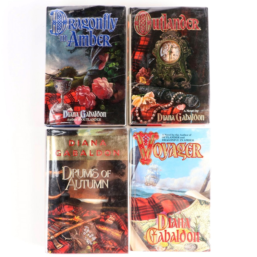 """Signed First Edition """"Outlander"""" and More Signed Diana Gabaldon Novels"""