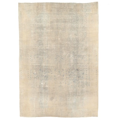 9'5 x 13'11 Hand-Knotted Persian Overdyed Room Sized Rug