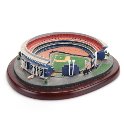 "Danbury Mint ""Home Of The New York Mets"" Shea Stadium Replica"