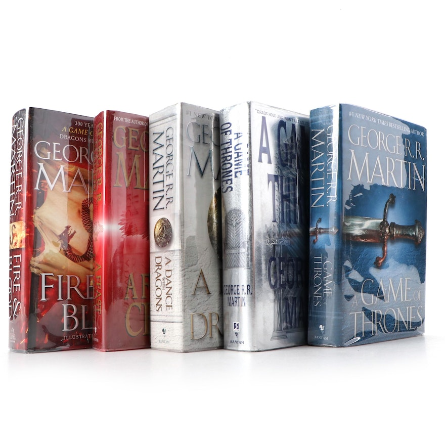 """Signed """"A Game of Thrones"""" and More by George R. R. Martin"""