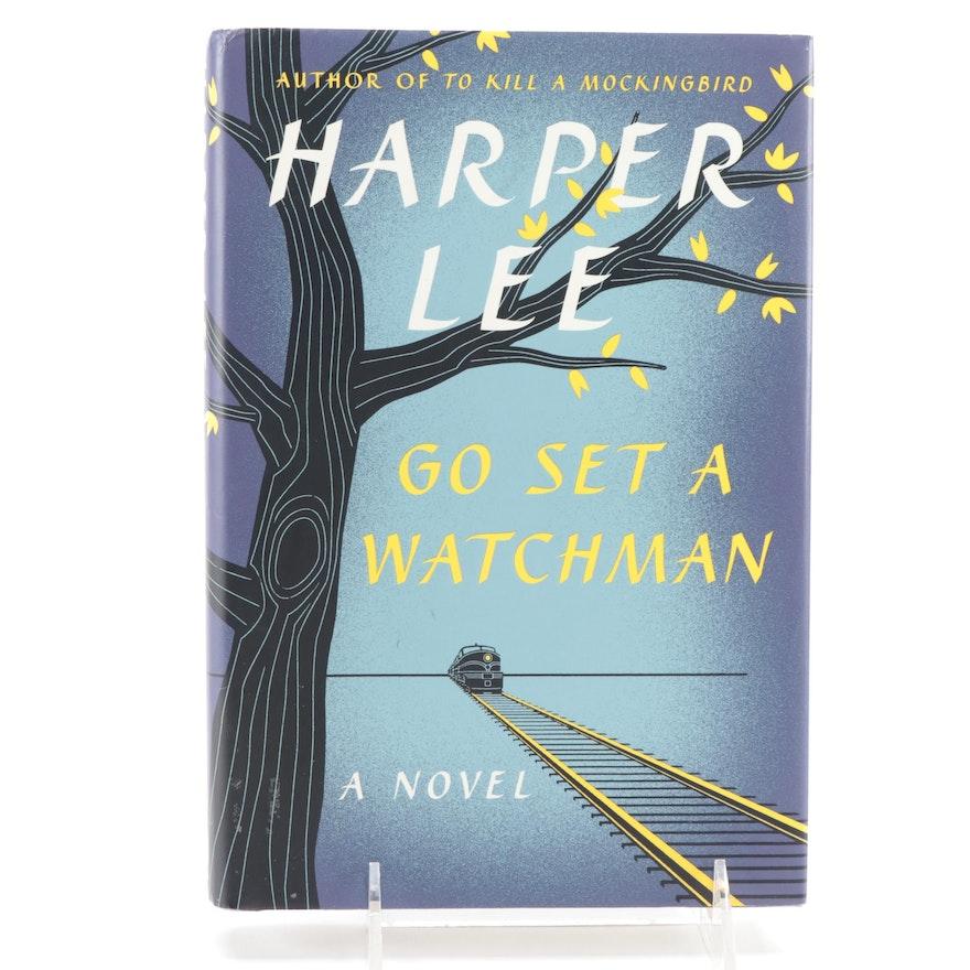 "First Edition ""Go Set a Watchmen"" by Harper Lee, 2015"