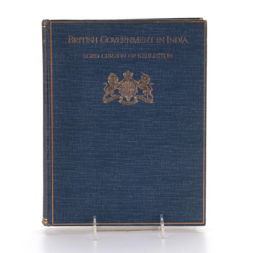 """""""The British Government in India"""" by Marquis Curzon of Kedleston"""