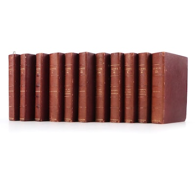 """""""The Poetical Works of Sir Walter Scott"""" Partial Set, 1833"""