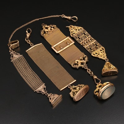 Victorian Watch Fobs Including Bloodstone