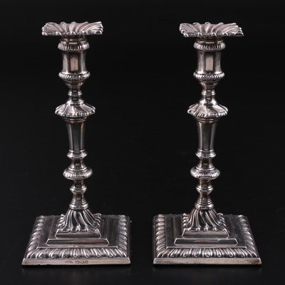 Johnson, Walker & Tolhurst Sterling Silver Candlesticks, 1916