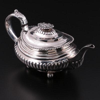 Charles Fox II of London Sterling Silver Teapot, 1825