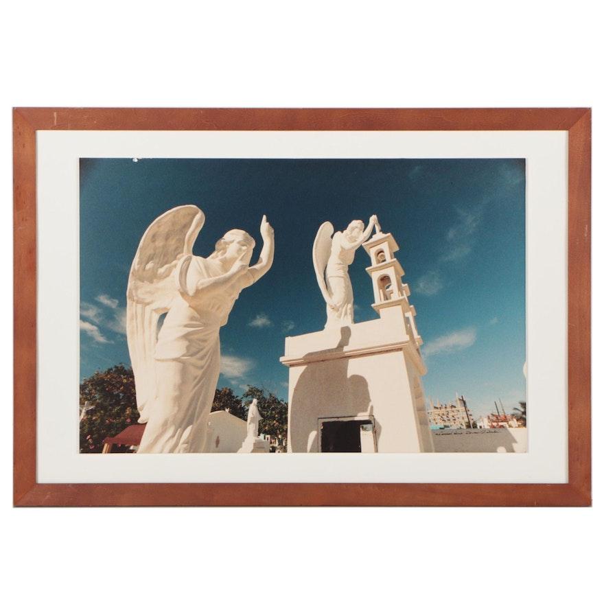 "Roman Zabinski Chromogenic Color Photograph ""Isla Muhares, Mexico"""