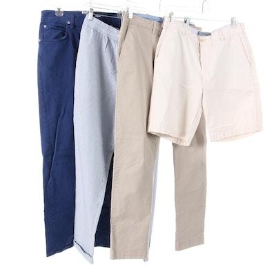 Men's Peter Millar, J. Crew and Hudson Pants and Shorts