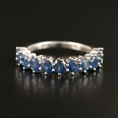 Sterling Sapphire Band