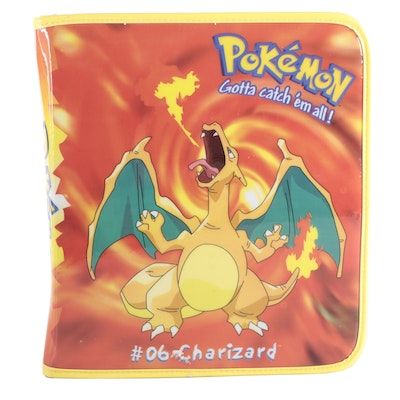 Pokémon Cards Including 1990s Issues, First Editions, and Holo Cards in Album