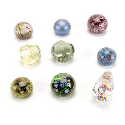 Lundberg Studios, Orient & Flume, and More Studio Art Glass Paperweights