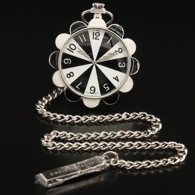 "Erté Designs ""Moonlight"" Pocket Watch by Seven Arts of London"
