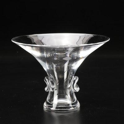 "Steuben Art Glass ""Bouquet Vase"" Designed by George Thompson"