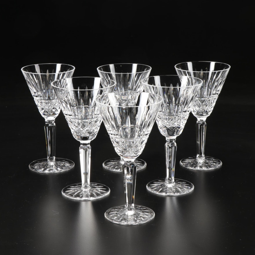 """Waterford Crystal """"Tramore"""" Sherry Glasses"""