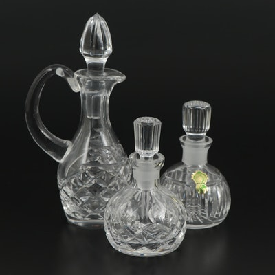 Waterford Crystal Perfume Bottles and Cruet