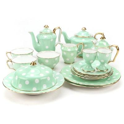 Crown Staffordshire Bone China Coffee and Tea Service