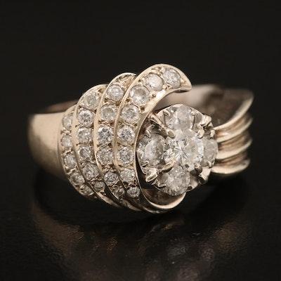 14K 1.45 CTW Diamond Ring