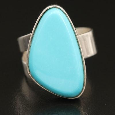 Desert Rose Trading Sterling Turquoise Ring