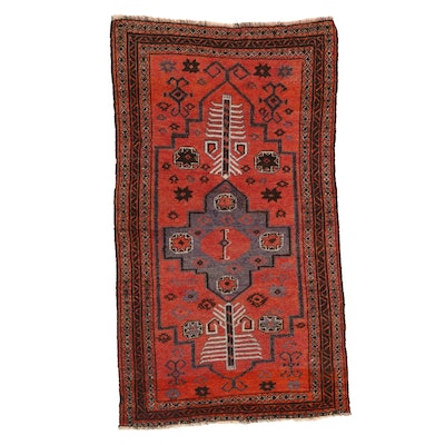 3' x 5'2 Hand-Knotted Persian Baluch Area Rug