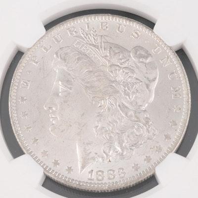 NGC Graded MS63 1883-O Morgan Silver Dollar