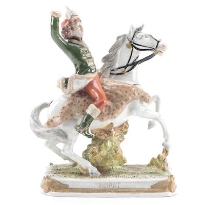 "German Kistner ""Murat"" Porcelain Figurine, Early to Mid 20th Century"