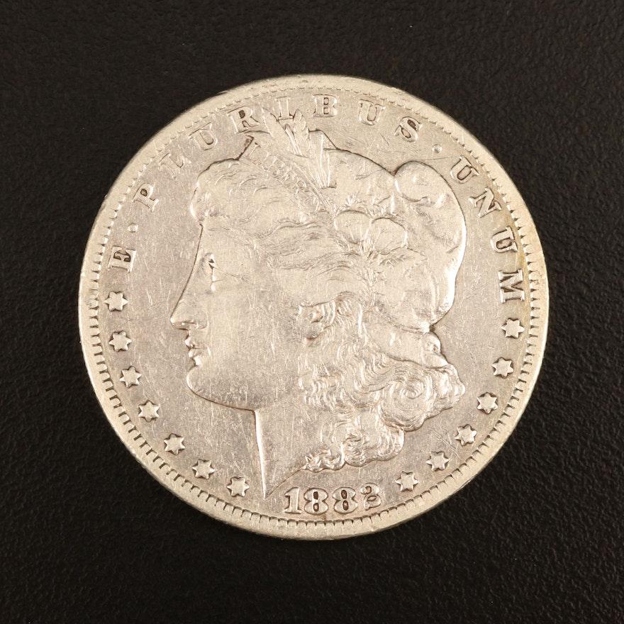1882-CC Morgan Silver Dollar