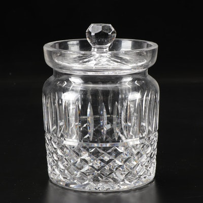 """Waterford Crystal """"Maeve"""" Biscuit Barrel, Late 20th Century"""