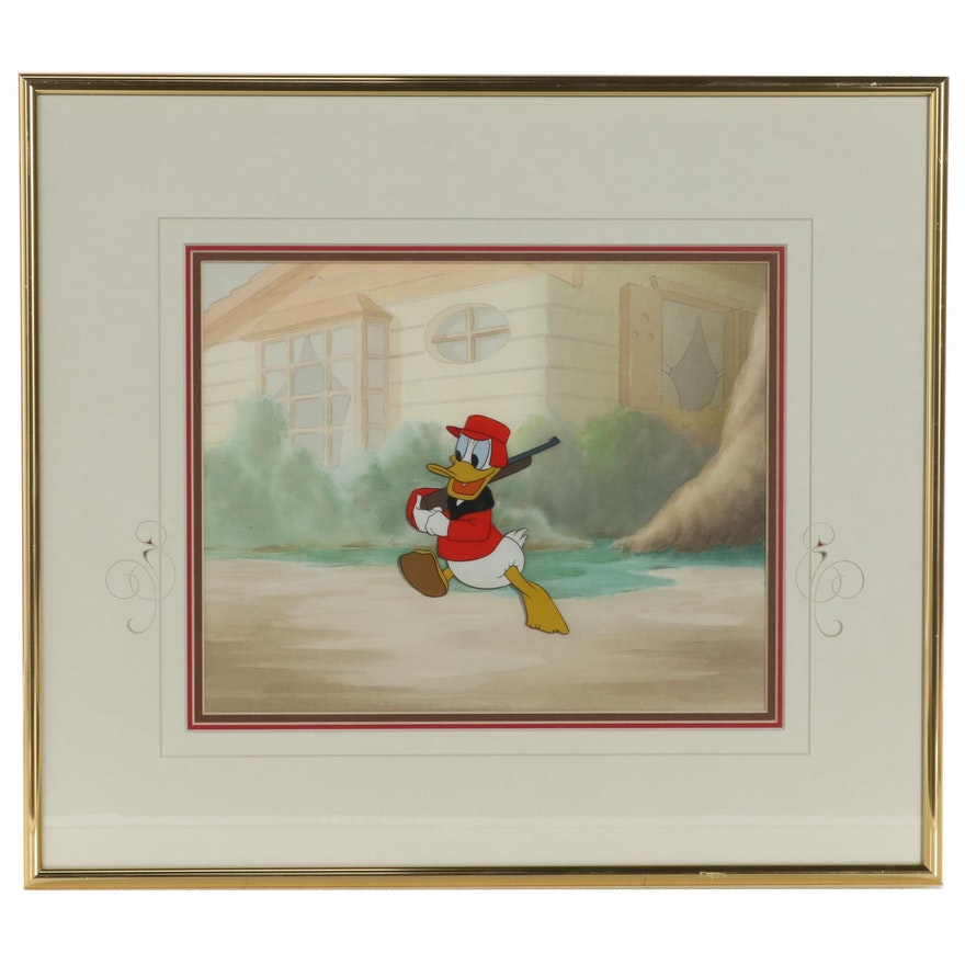 "Disney ""Donald Duck"" Production Cel, Circa 1950"