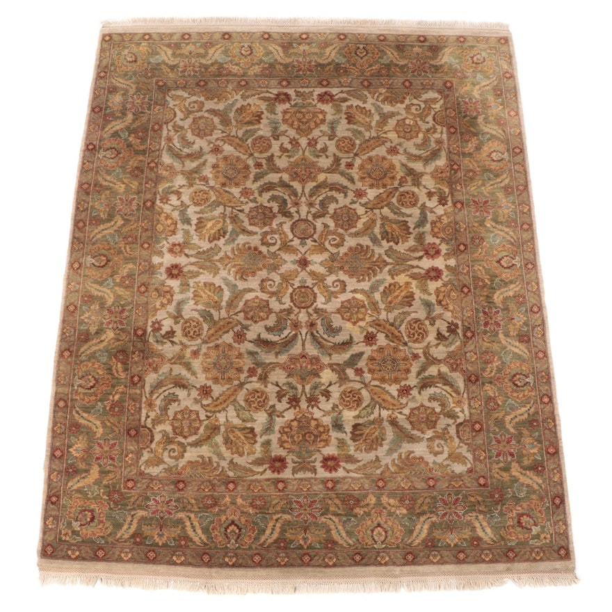 8' x 10'6 Hand-Knotted Indian Agra Area Rug from The Rug Gallery
