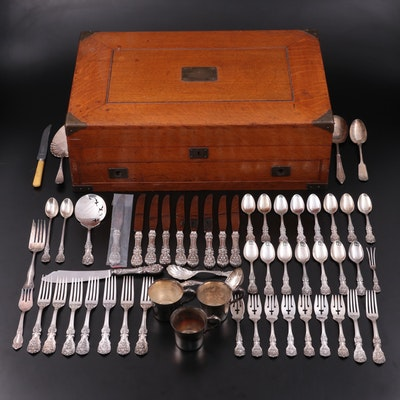"""Reed & Barton """"Francis I"""" Sterling Silver Flatware and Other Silver Plate"""