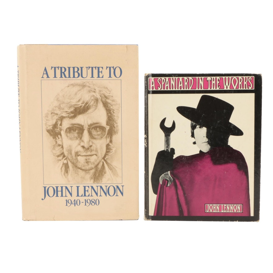"""First American Edition """"A Spaniard in the Works"""" by John Lennon and More"""