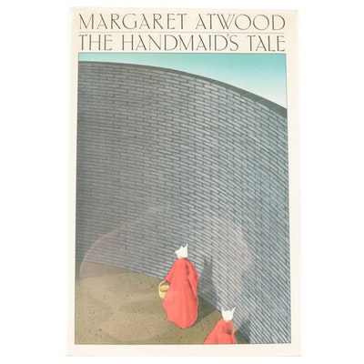 """First American Edition """"The Handmaid's Tale"""" by Margaret Atwood, 1986"""