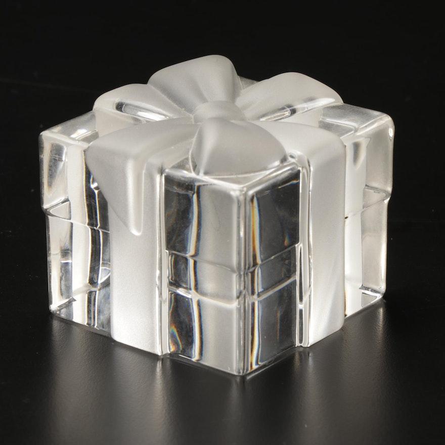 Tiffany & Co. Crystal Gift Box