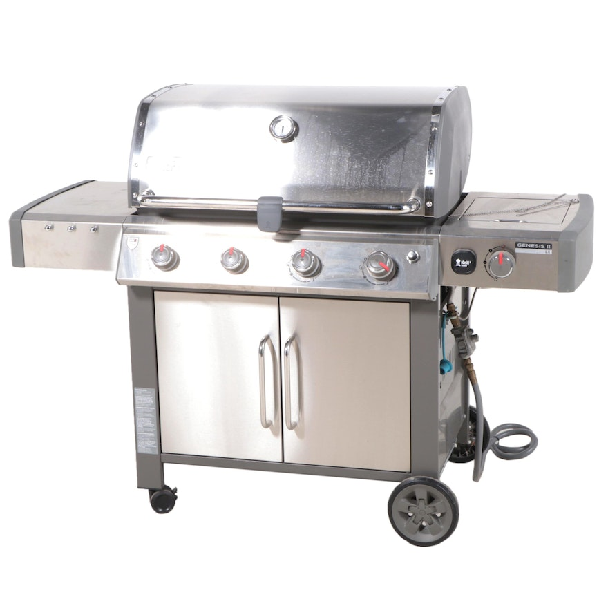 Weber Genesis II LX Stainless Steel Natural Gas Grill