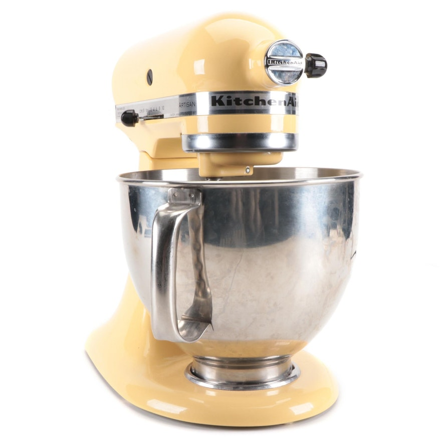 KitchenAid Artisan® Series 5 Quart Tilt-Head Stand Mixer in Majestic Yellow
