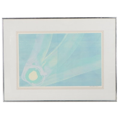 Syd Kramer Abstract Serigraph, Late 20th to 21st Century