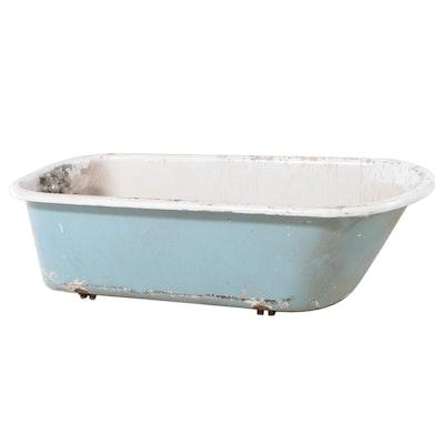 Antique Enameled Cast Iron Bath Tub