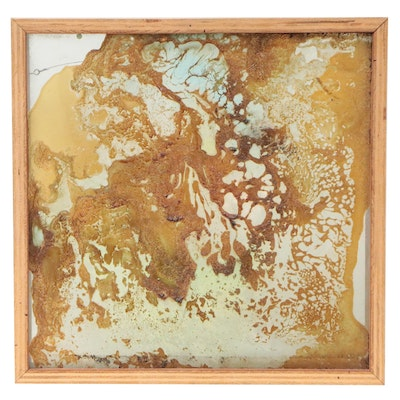 Abstract Resin Pour Art, 21st Century